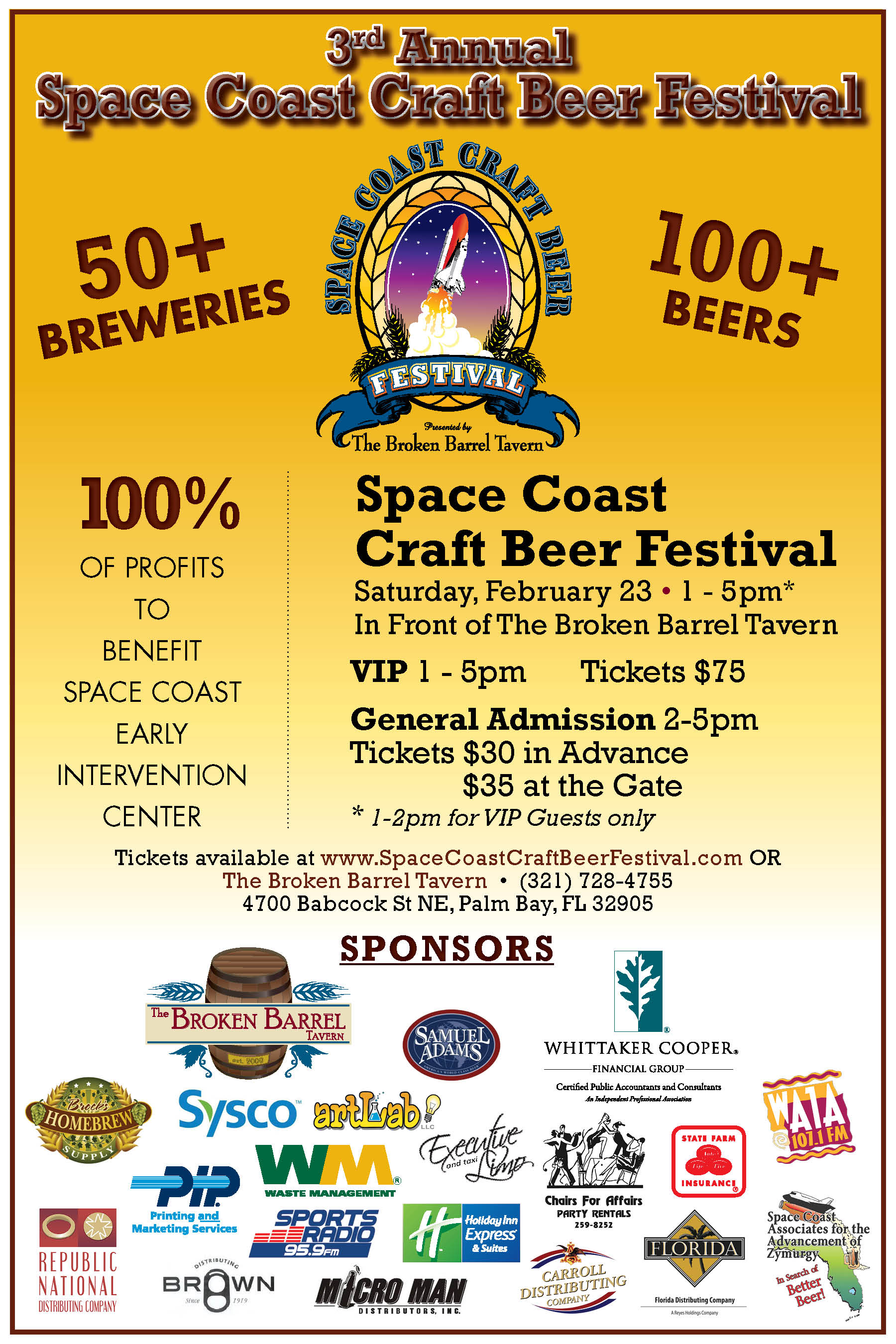3rd Annual Space Coast Craft Beer Festival