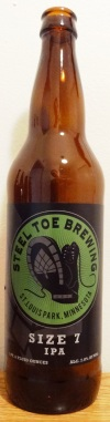steel toe brewing size 7 ipa